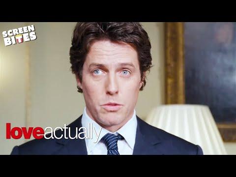 Hugh Grant For Prime Minister | Love Actually | SceneScreen
