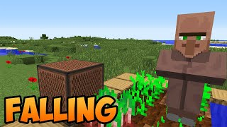 Villager sings song falling i made music from dog sounds.i hope for support you pleasant viewing. 100 likes and it will be continued😁❤️ lyrics: my last ...