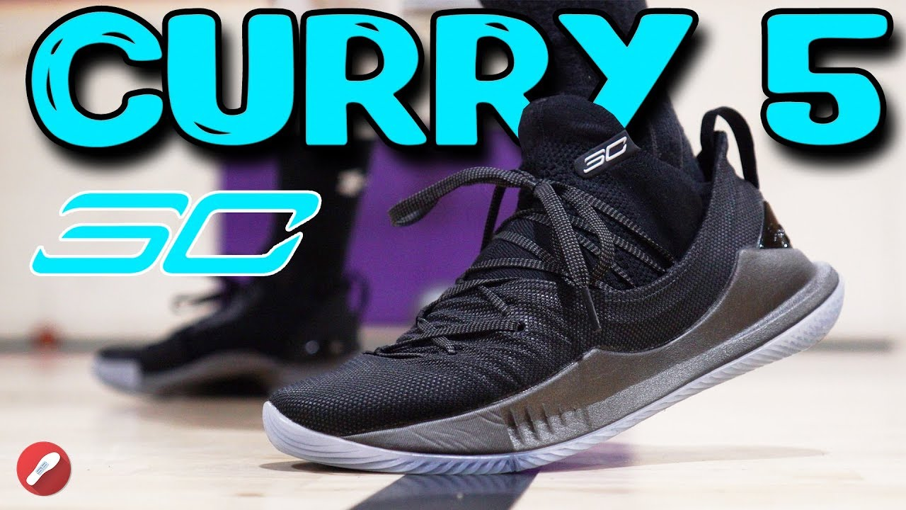 e54b2296727 Under Armour Curry 5 Performance Review! - YouTube