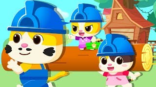 小貓咪蓋樹屋   2019最新兒歌   小心陌生人童謠   大灰狼動畫   奇妙救援隊卡通   寶寶巴士   奇奇   BabyBus