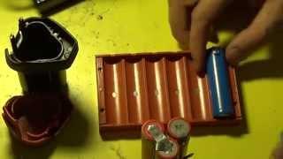 Ta'mirlash batareya Li-ion METABO screwdriver