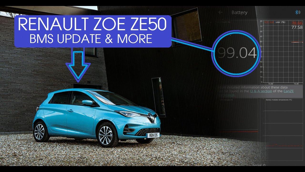 ZE50 BMS UPDATE