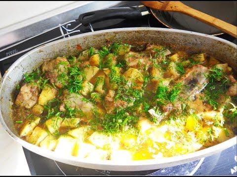 Ребрышки с картошкой. Как приготовить свиные ребрышки.