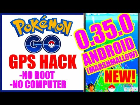 NEW POKEMON GO ANDROID HACK 0.35.0 (NO ROOT + NO COMP) Tap To Walk & Teleport MARSHMALLOW 6.0