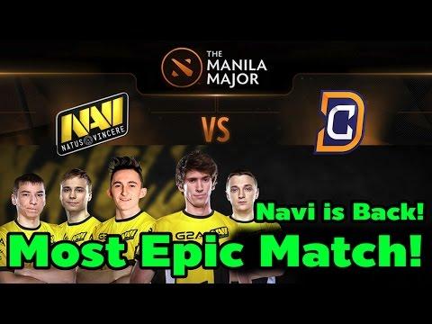 Most Epic Match Ever! Navi is Back! Manila Major Navi vs DC