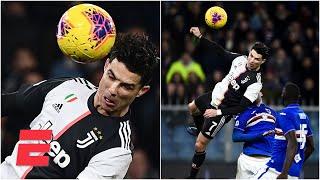 ¡GOLAZO! Increíble gol de cabeza de Cristiano Ronaldo y Juventus sigue líder de la Serie A de Italia