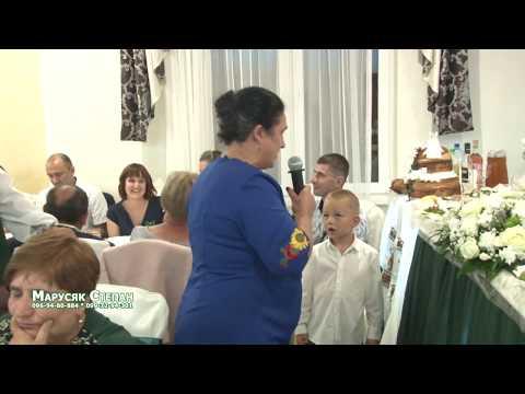 Коломийки від веселої гості на бойківському весіллі