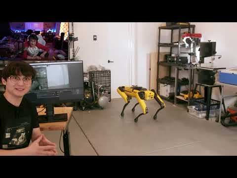 "Kristofer Yee Reacts To ""Teaching a Robot Dog to Pee Beer"" By Michael Reeves"