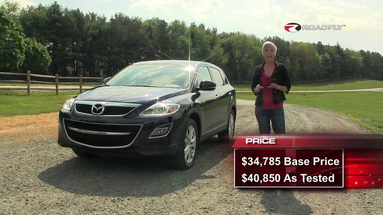 mazda cx-9 2012 suv test drive & car review with emme hall