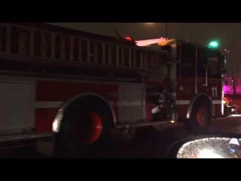 CTA blue line train fire near O