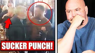 FOOTAGE of Conor McGregor altercation with old man at a pub in Dublin, Anthony Pettis on Nate Diaz