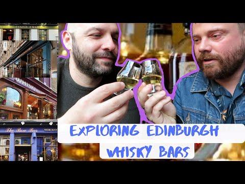 Exploring Edinburgh Whisky Pubs