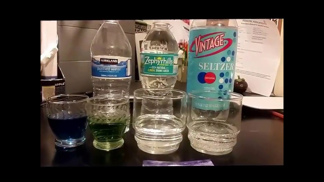 Kirkland Signature Water PH Test