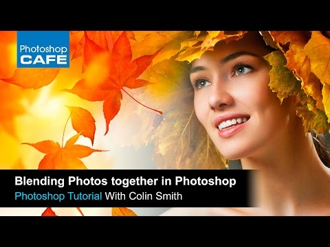How to combine photos in Photoshop with Layer Masks, seamless blending technique