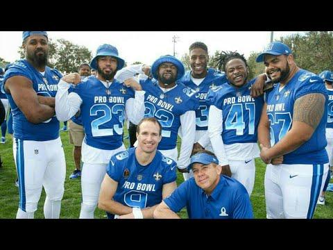 new style 34ba3 e6710 New Orleans Saints Pro Bowl Highlights