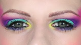 WSITN: Neon Brights | Makeup Tutorial Thumbnail
