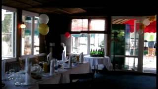 Свадебное украшение ресторана тканью, шарами! Дизайн  студия праздника Радуга (, 2010-06-17T20:42:02.000Z)