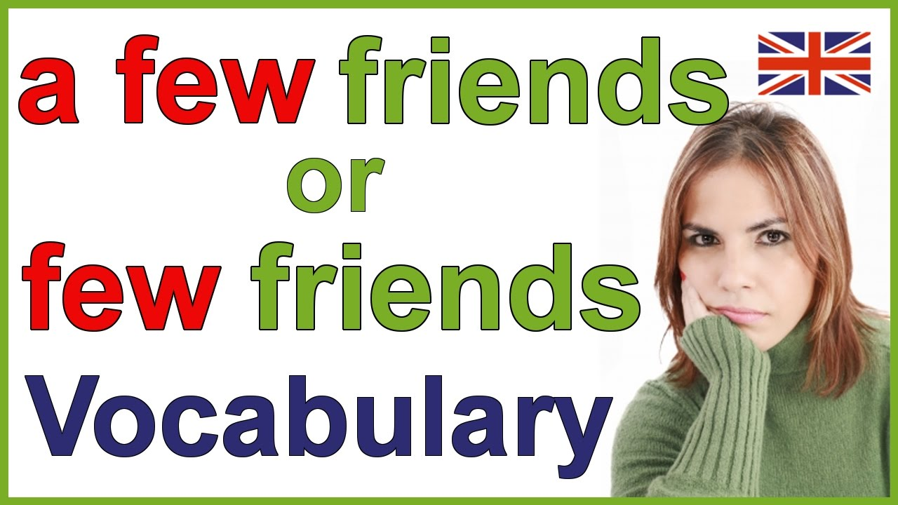 Download The difference between A FEW and FEW in English