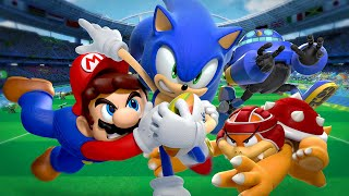 Mario & Sonic at the Rio 2016 Olympic Games - трейлер Heroes Showdown (Wii U)