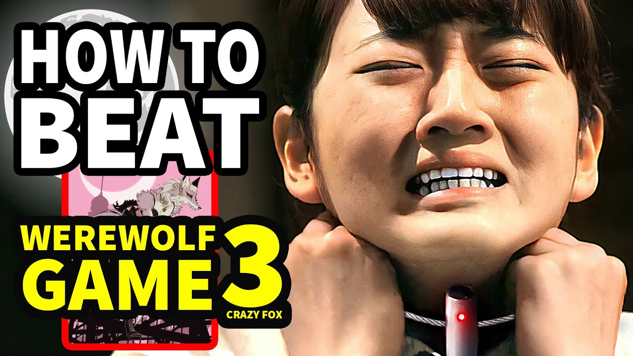 """How To Beat The HIGH SCHOOL DEATH GAME In """"Werewolf Game: Crazy Fox"""""""