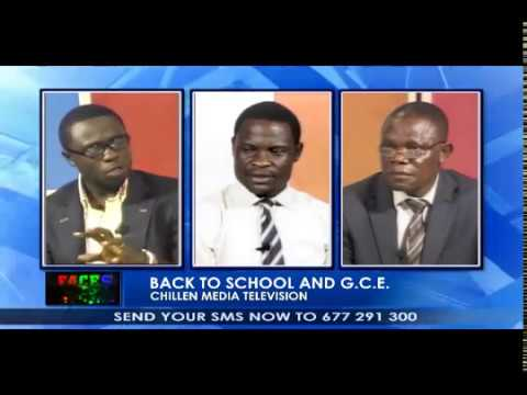 "GCE 2017/ANGLOPHONE CAMEROON PROBLEM - Live on ""FACES"" CMTV"