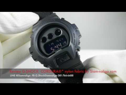 Review G-SHOCKCORDURA®* nylon fabric by Siam-naliga