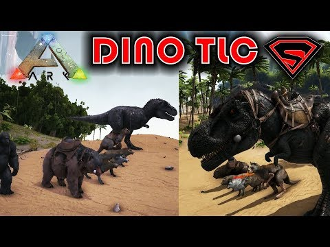ARK DINO TLC UPDATE PHASE 1 - ALL ARK DINOS TLC SHOWCASE INCLUDED IN THE ARK DINO TLC PHASE 1