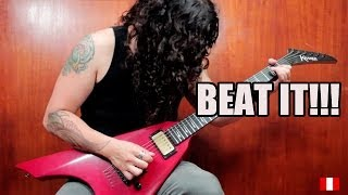 Charlie Parra Beat It Eddie Van Halen Solo
