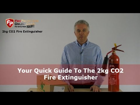 Your Quick Guide To The 2kg CO2 Fire Extinguisher