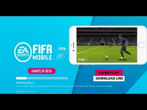 OFFICIAL FIFA Mobile 19 Beta Edition Android Full Game With HD Gamplay
