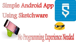 Sketchware Tutorials|#3|Simple android app using sketchware- Android programming