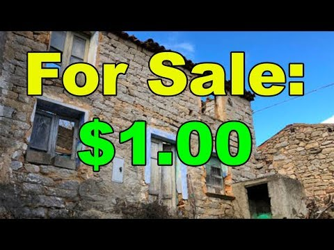 The world's cheapest house? (Only $1.00)