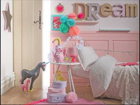 comment faire une d co licorne dans une chambre d 39 enfant decopatch youtube. Black Bedroom Furniture Sets. Home Design Ideas