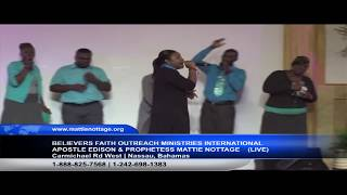 FRIDAY NIGHT MIRACLE/HEALING/DELIVERANCE SERVICE/Apostle Edison & Prophetess Mattie Nottage/10.19.18