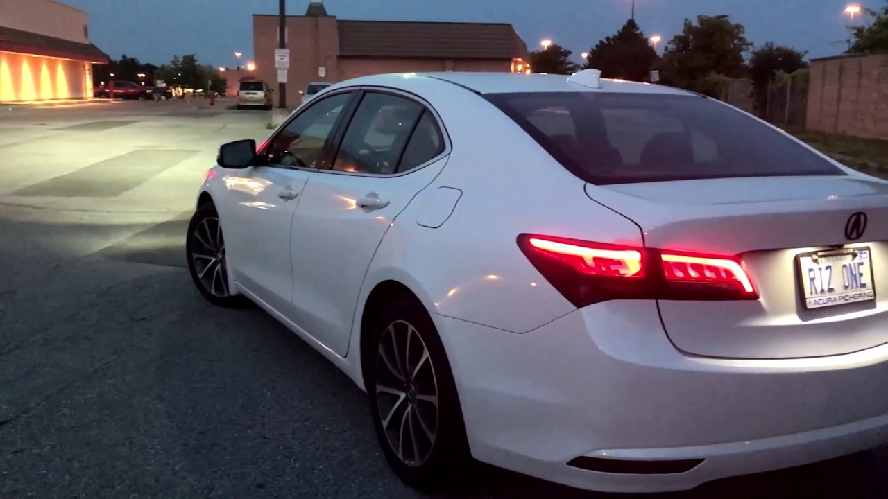 2015 Acura Tlx Tech >> 2015 Acura TLX V6 SH AWD Review - YouTube