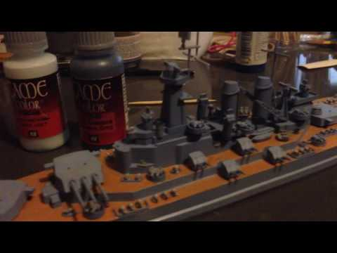 USS Washington model review