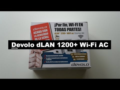 devolo-dlan-1200+-wi-fi-ac,-para-conectarte-a-internet- -unboxing-en-español
