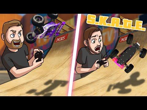 SKATE With RC Cars! | GTA5 |