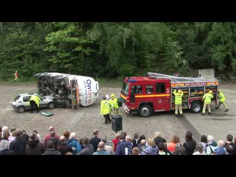 2009 Emergency Services Day (Staged incident)
