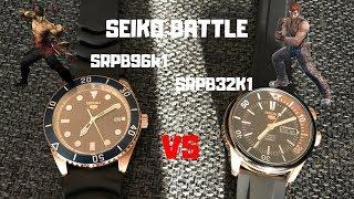 I Compare Two Cool Seiko Divers - SRPB96 vs SRPB32
