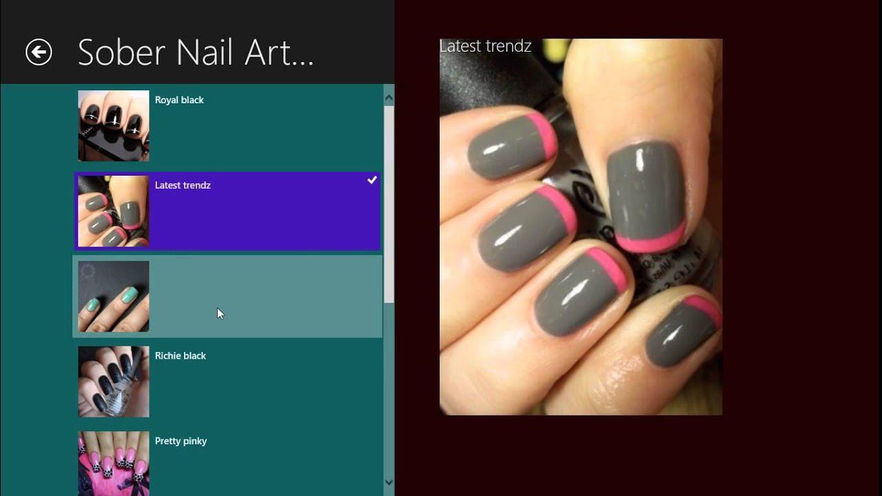 Nail Art на виндовс 8.1 - YouTube