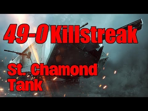 Battlefield 1: 49-0 Killstreak | St. Chamond Tank | Map Suez/Conquest | Ländlezocker