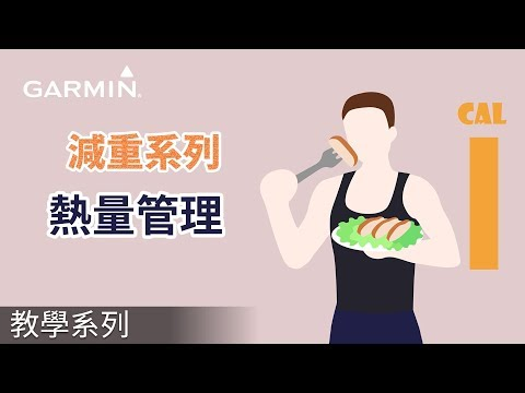 Garmin減肥系列: 熱量管理