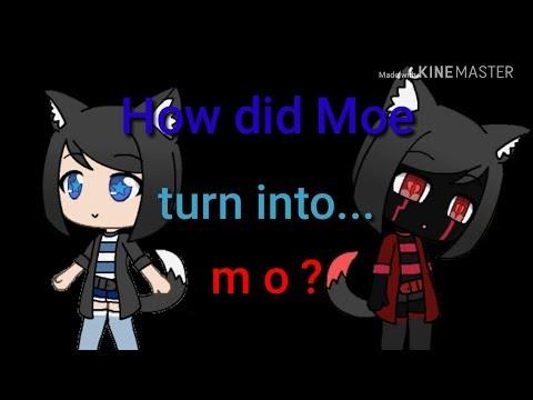 How did Moe turn into m o? | Gacha life | part 1 😉
