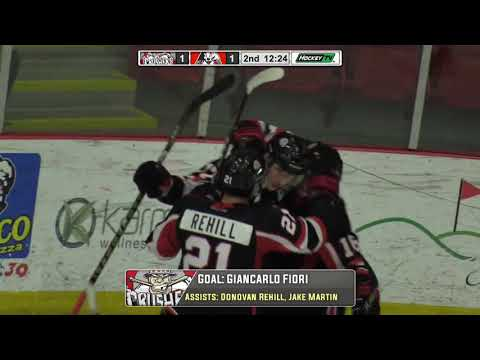 Truro Bearcats vs Pictou County Weeks Crushers Highlights (10-20-17)