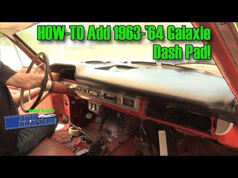 Galaxie Dash Pad Install