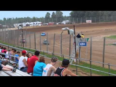 Eagle Valley Speedway Heat 1 (Part 1) Hornets July 7, 2013