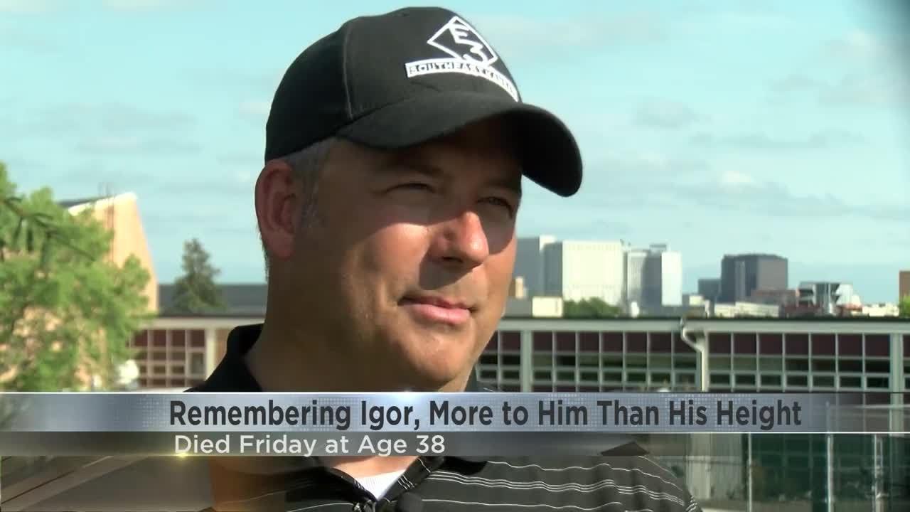 Rochester community remembers gentle giant Igor Vovkovinskiy