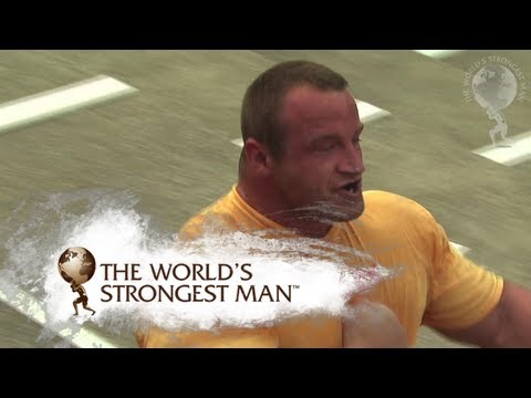 2008 Power Stairs: Heat Two | World's Strongest Man