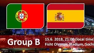 Portugalsko Vs Španělsko!!! Livestream!!! Mistrovství Světa